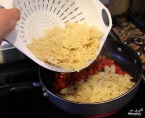 Паста с помидорами и сыром - фото шаг 4