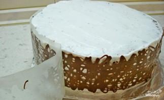 Торт с бантом - фото шаг 3
