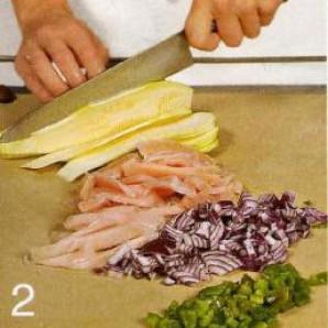 Тортильи с начинками - фото шаг 2