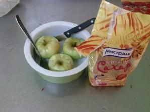 Запеченное яблоко с карамелью - фото шаг 1