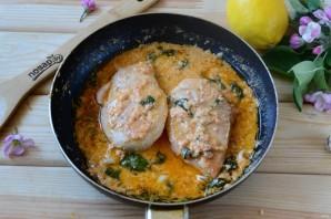 Куриные грудки в лимонном соусе - фото шаг 8