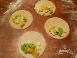 Диетические сочни с фруктовой начинкой - фото шаг 8