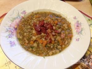 Чечевичный суп с беконом - фото шаг 10