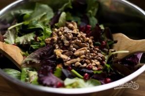 Салат с грецкими орехами и гранатом - фото шаг 3