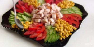 Салат праздничный за 10 минут - фото шаг 2