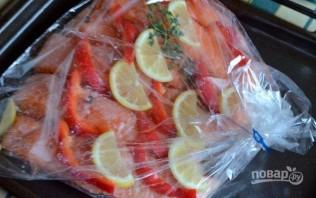Филе семги в духовке - фото шаг 4