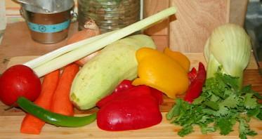 Рыбный суп с овощами - фото шаг 2