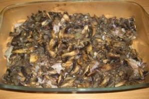 Рыба с грибами в духовке - фото шаг 3
