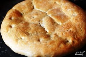 Фокачча с сыром и базиликом - фото шаг 9