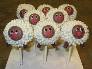 Десерт в виде овцы - фото шаг 4