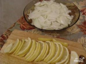 Стерлядь с лимоном - фото шаг 2