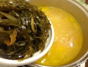 Суп из морской капусты - фото шаг 6