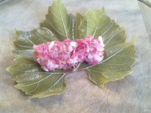 Голубцы из виноградных листьев - фото шаг 8