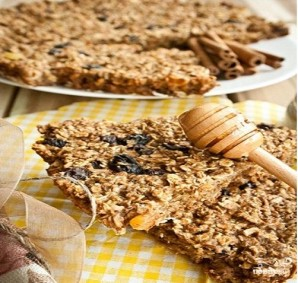 Пирог с изюмом овсяный датский - фото шаг 4