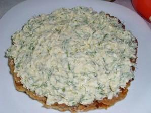 Закусочный пирог с консервой - фото шаг 3