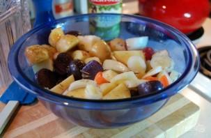 Жаркое из картофеля со свининой - фото шаг 1