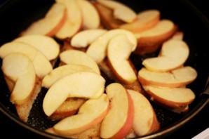 Гренки с яблоками - фото шаг 5