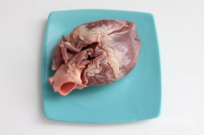 Сердце свиное отварное - фото шаг 1