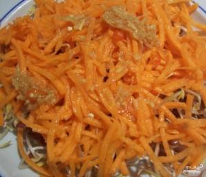Хе из рыбы с морковью - фото шаг 3