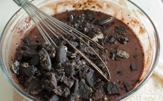 Шоколадный торт с печеньем - фото шаг 7