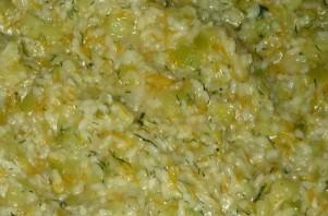 Рагу из кабачков с рисом - фото шаг 6