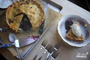 Черничный пирог с лимонной цедрой - фото шаг 8