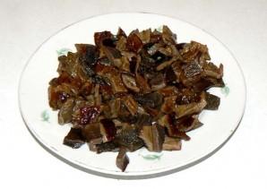 Картофель с мясом и грибами - фото шаг 5