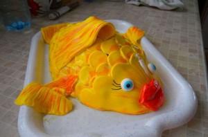 """Торт """"Рыбка"""" - фото шаг 15"""