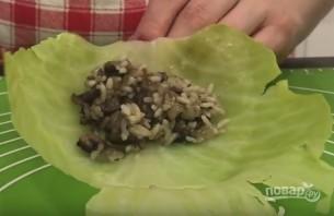 Постные голубцы с грибами (очень вкусно!) - фото шаг 6