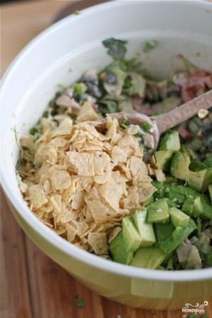 Шопский салат - фото шаг 5