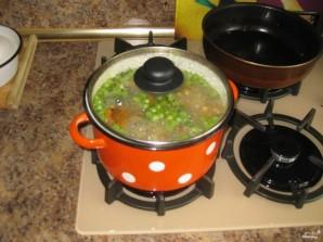 Суп грибной с лисичками - фото шаг 7