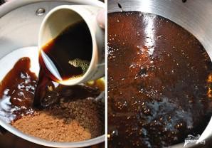 Шоколадный торт с заварным кремом - фото шаг 2