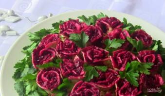 "Салат ""Розы"" - фото шаг 10"