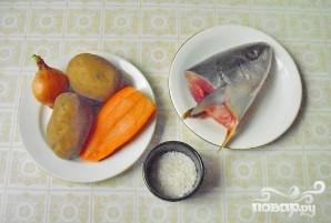 Легкий суп из желтохвоста - фото шаг 2