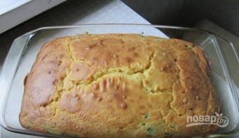 Пирог с яйцом и зеленым луком - фото шаг 3