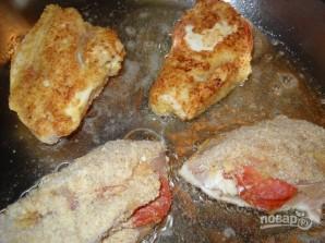 Куриные грудки, фаршированные сыром и пепперони - фото шаг 6