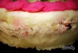 Закусочный торт из картофельного пюре - фото шаг 6