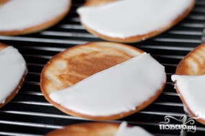 Печенье в шоколадно-медовой глазури - фото шаг 6