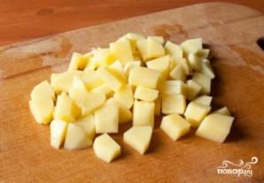 Суп с мясом и картошкой - фото шаг 2