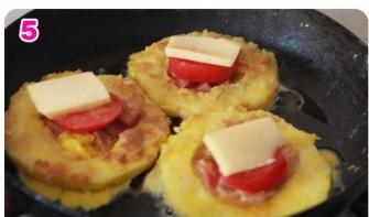 Кабачки с колбасой - фото шаг 5