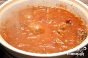 Тушеная говядина в томатном соусе - фото шаг 5