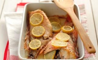 Морская рыба в духовке - фото шаг 3