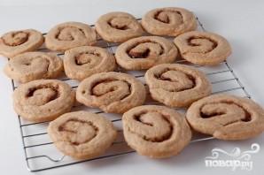 Печенье с корицей и кофейной глазурью - фото шаг 6