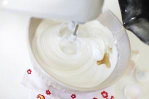 "Торт ""Птичье молоко"" без яиц - фото шаг 4"