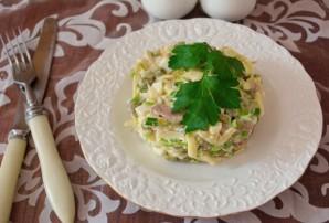 Салат с печенью трески и яйцом - фото шаг 6