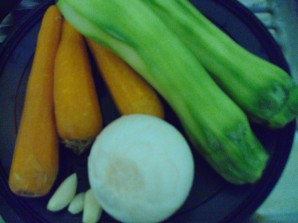 Блинчики из кабачков и моркови - фото шаг 1