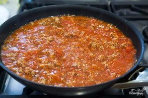 Макароны под соусом в духовке - фото шаг 2