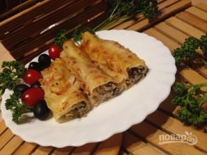 Каннеллони с тунцом в помидорном соусе - фото шаг 9