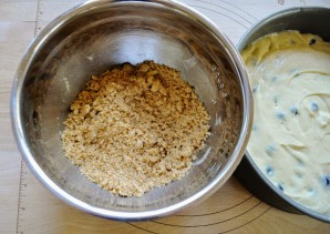 Песочный пирог с черникой - фото шаг 8