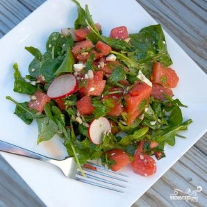 Тайский салат из арбуза - фото шаг 4